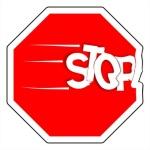 Panneau griller le stop